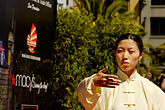 image 5-620-2982 California, San Francisco, Chinese Martial Artist