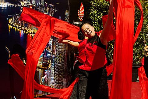image 5-620-3034 California, San Francisco, Chinese Dancer