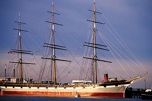 image 9-12-2 California, San Francisco, San Francisco Maritime National Historical Park, clipper ship Balclutha