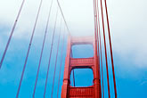 suspension bridge stock photography | California, San Francisco, Golden Gate Bridge, image id S4-310-107