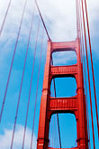blue sky stock photography | California, San Francisco, Golden Gate Bridge, image id S4-310-110