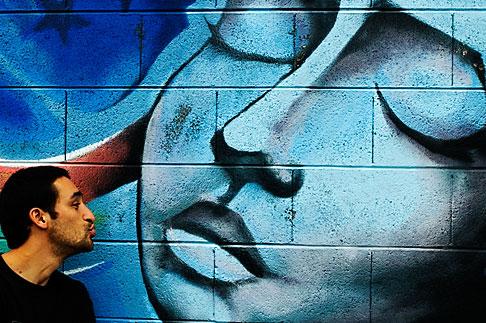 image S4-311-033 California, San Francisco, Graffiti