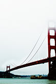 suspension bridge stock photography | California, San Francisco Bay, Golden Gate Bridge, image id S4-311-071