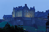 luminous stock photography | Scotland, Edinburgh, Edinburgh Castle, image id 1-510-26