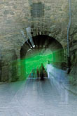 pedestrian stock photography | Scotland, Edinburgh, Edinburgh Castle, Portcullis Gate, image id 1-510-36