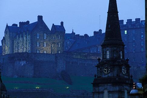 image 1-510-43 Scotland, Edinburgh, Edinburgh Castle