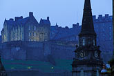 church steeple stock photography | Scotland, Edinburgh, Edinburgh Castle, image id 1-510-43