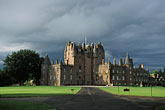 lawn stock photography | Scotland, Angus, Glamis Castle, image id 1-521-20
