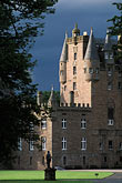 facade stock photography | Scotland, Angus, Glamis Castle, image id 1-521-3