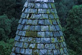 tiled roof stock photography | Scotland, Angus, Glamis Castle, tower detail, image id 1-521-32