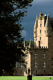 timbered house stock photography | Scotland, Angus, Glamis Castle, image id 1-521-6