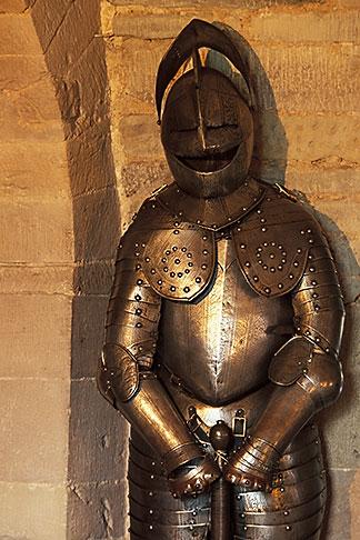 image 1-521-87 Scotland, Angus, Glamis Castle, Armor