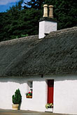 thatched cottage stock photography | Scotland, Angus, Glamis Village, image id 1-524-22