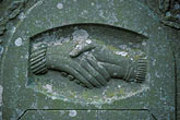 two hands stock photography | Scotland, Angus, Gravestone, St Fergus Church, Glamis Village, image id 1-524-34