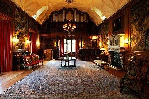 image 1-531-17 Scotland, Aberdeenshire, Fyvie Castle, Great Hall