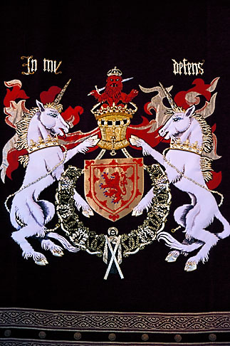 image 1-556-52 Scotland, Stirling, Stirling Castle, coat of arms