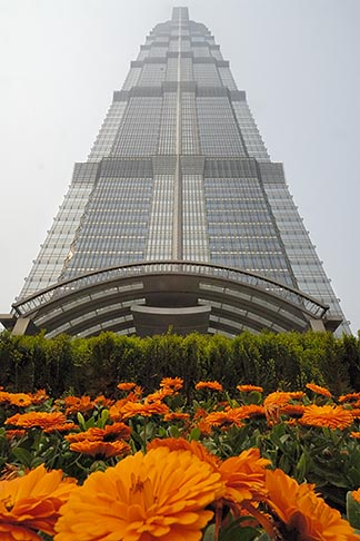 image 7-620-120 China, Shanghai, Jin Mao Tower, Pudong