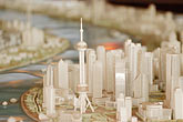 planning stock photography | China, Shanghai, City Model, Shanghai Urban Planning Exhibition Hall, image id 7-620-3327
