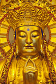 golden buddha stock photography | China, Shanghai, Buddha, Longhua Temple, image id 7-620-34
