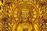 golden buddhas stock photography | China, Shanghai, Buddha, Longhua Temple, image id 7-620-39