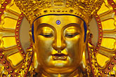 golden buddha stock photography | China, Shanghai, Buddha, Longhua Temple, image id 7-620-41