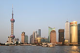 china stock photography | China, Shanghai, Pudong skyline, image id 7-620-4159