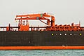 tanker stock photography | Shipping, Oil tanker, side view, image id 7-677-4675