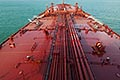 deck of oil tanker stock photography | Shipping, Deck of oil tanker, pipes and valves, image id 7-677-9063