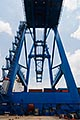 maritime stock photography | Shipping, Container crane at port, image id 7-678-5848
