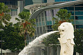 horizontal stock photography | Singapore, Merlion statue, image id 7-680-4565