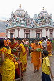 vertical stock photography | Singapore, Sri Mariamman Temple, Hindu festival, image id 7-680-8717