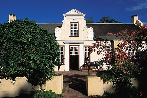 1-419-10 stock photo of South Africa, Helderberg, Homestead, Vergelegen Wine Estate