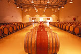 row stock photography | South Africa, Helderberg, Barrel cellar, Morgenster Wine Estate, image id 1-420-12