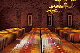 row stock photography | South Africa, Stellenbosch, Barrel cellar, Waterford Winery , image id 1-420-66