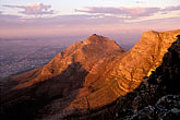 golden light stock photography | South Africa, Cape Town, Devil