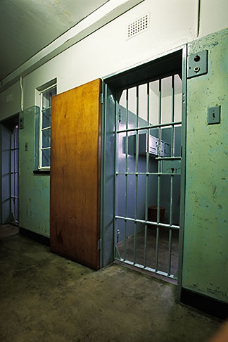 image 1-430-17 South Africa, Robben Island, Nelson Mandelas Cell, B Section