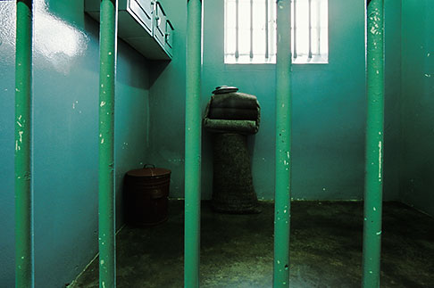 image 1-430-22 South Africa, Robben Island, Nelson Mandelas Cell, B Section