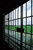 security stock photography | South Africa, Robben Island, D Section, Maximum Security Prison, image id 1-430-41