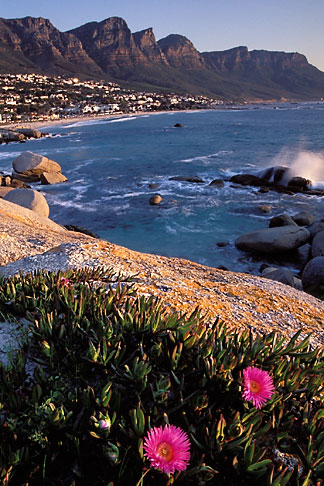 5-452-1 stock photo of South Africa, Cape Town, Camps Bay and the Twelve Apostles