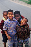four teenage boys stock photography | South Africa, Cape Town, Xhosa children, Langa township, image id 5-458-18