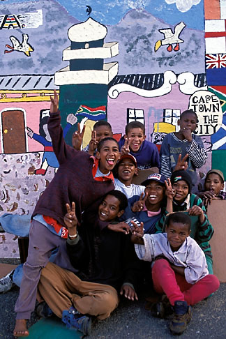 image 5-462-30 South Africa, Cape Town, Homestead boys, Bo Kaap, Malay Quarter