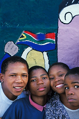 image 5-462-31 South Africa, Cape Town, Homestead boys, Bo Kaap, Malay Quarter