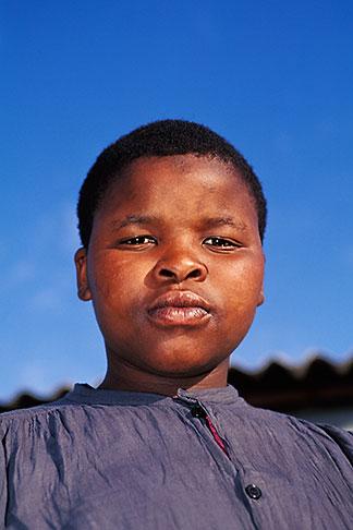 image 5-487-1 South Africa, Cape Peninsula, Young girl, Masiphumelele
