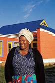 architecture stock photography | South Africa, Cape Peninsula, Xhosa woman, Masiphumelele, image id 5-487-22