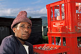 hat stock photography | South Africa, Cape Peninsula, Man, Masiphumelele, image id 5-487-3