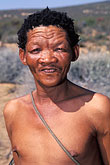 one man only stock photography | South Africa, Western Cape, Bushman, Kagga Kamma, image id 5-493-24