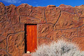 front door stock photography | South Africa, Western Cape, Kagga Kamma Reserve, image id 5-494-13