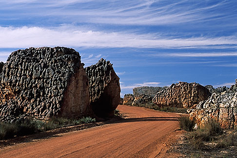 image 5-495-27 South Africa, Western Cape, Road, Cedarberg Karoo