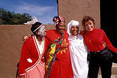 together stock photography | South Africa, Eastern Cape, Zulu women and visitor, Kaya Lendaba, image id 7-442-9