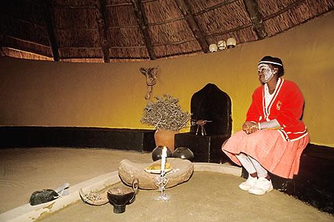 image 7-443-7 South Africa, Eastern Cape, Kaya Lendaba healing village